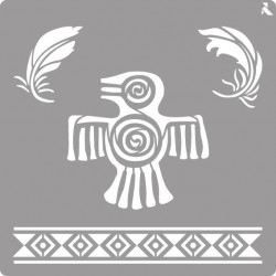 Pochoir Maya de La Pajarita