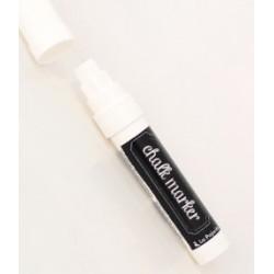 """Marqueur craie liquide """"Chalk Marker"""" pour ardoise de La Pajarita 6 ml - Blanc"""