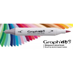 Set de 36 marqueurs GRAPH'IT Brush & Extra fine Essential