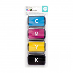 "Set de 4 encreurs ""ink pad set"" de  We R memory keepers"