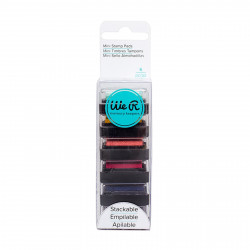 "Set de 6 encreurs ""mini ink pads"" de  We R memory keepers"