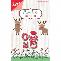 "Die ""Mon ami Rudolph"" de Joy!Crafts"
