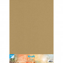 Set de papier Kraft  50x35cm (x10) de Joy!Crafts