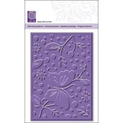 Plaque d'embossage Butterfly and Flower de Cart Us