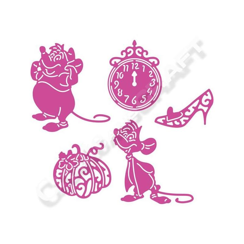 Disney Cendrillon Cinderella Die Embellishments De 8OXnwP0k
