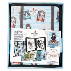 Classeur de rangement pour Dies & mini tampons c collection Gorjuss de Docrafts