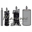 "Die Craftables ""candles set"" de Marianne Design"