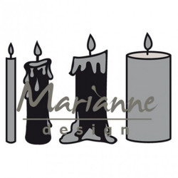 "Die Craftables ""candles set"" de Marianne Design"