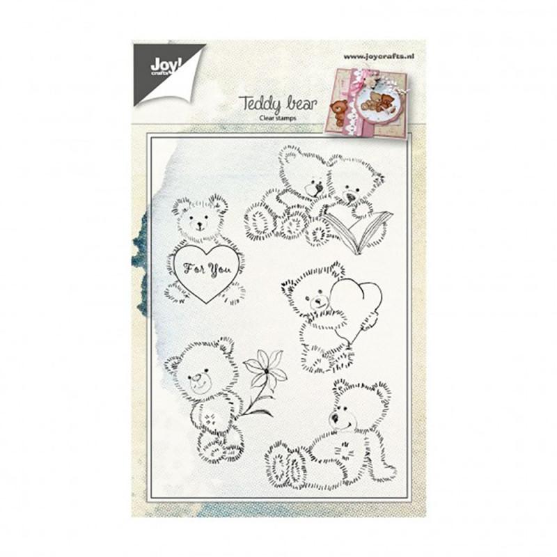 "Tampon transparent ""Teddy Bears"" de Joy!Crafts"