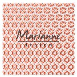 "Plaque d'embossage ""folder 3D Japanse star"" de Marianne Design"