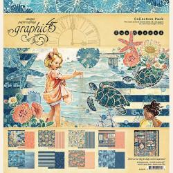 """Set Papier 30x30 """"Sun Kissed"""" de Graphic 45"""