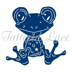 Die Freda Frog de Tattered Lace