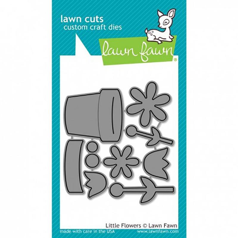 """Die """"Little Flowers"""" de Lawn Fawn"""