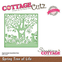 Die Cottage Cutz' Spring Tree of Life de Scrapping Cottage