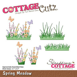 Die Cottage Cutz Spring Meadow de Scrapping Cottage