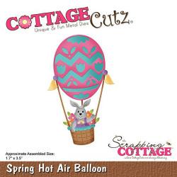 Die Cottage Cutz Spring Hot Air Balloon de Scrapping Cottage