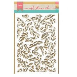 """Pochoir """"Tiny's feathers"""" de Marianne Design"""