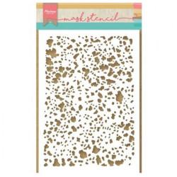 """Pochoir """"Tiny's speckles"""" de Marianne Design"""