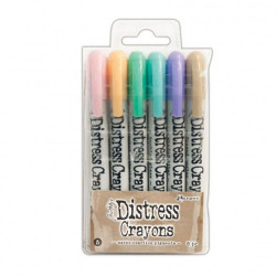 "Coffret ""Tim Holtz distress crayons set 5"" de Ranger"
