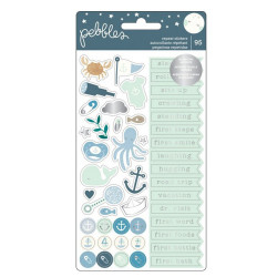 "Pochette de stickers ""Night Night Baby Boy"" de Pebbles"