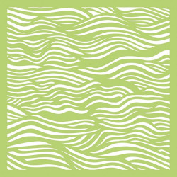 "Pochoir ""ripples"" 15X15 cm de Kaisercraft"
