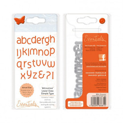 "Set de Die Tonic ""attraction lower case alphabet"" de Tonic Studio"