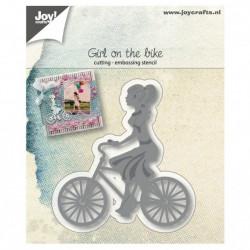 "Die ""Jeune fille au vélo"" de Joy!Crafts"