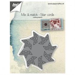 """Die """"Mix & Match Cercle étoile"""" de Joy!Crafts"""