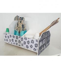 Boîte à outils MDF à monter et décorer de Vaessen